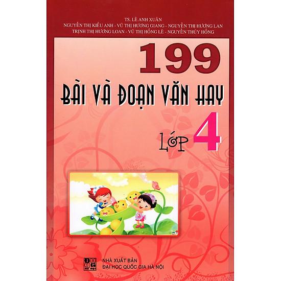 199 Bài Và Đoạn Văn Hay Lớp 4