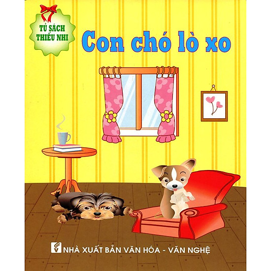 Tủ Sách Thiếu Nhi - Con Chó Lò Xo