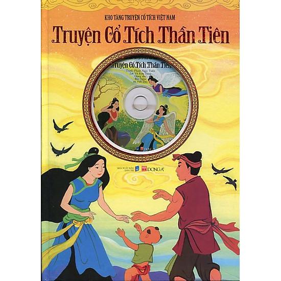Kho Tàng Truyện Cổ Tích Việt Nam - Truyện Cổ Tích Thần Tiên (Kèm CD)
