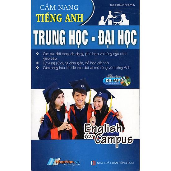 Cẩm Nang Tiếng Anh Trung Học - Đại Học (Sách Bỏ Túi) - Kèm CD