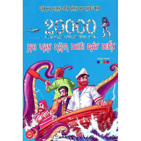 Hình ảnh download sách Hai Vạn Dặm Dưới Đáy Biển - Văn Học Kinh Điển Dành Cho Thiếu Nhi