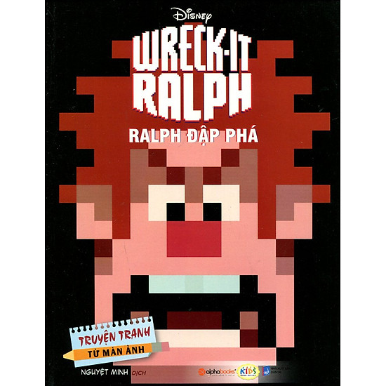 Truyện Tranh Từ Màn Ảnh – Ralph Đập Phá
