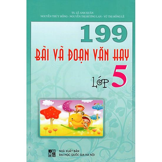 199 Bài Và Đoạn Văn Hay Lớp 5