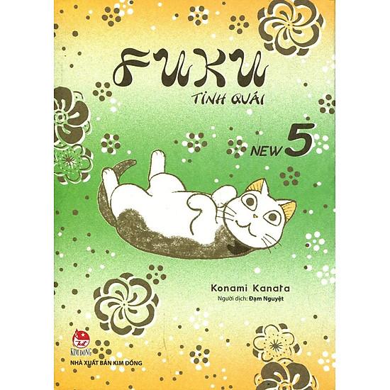 Download sách Fuku Tinh Quái - Tập 5