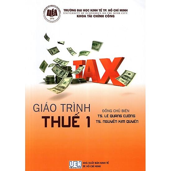 [Download sách] Giáo Trình Thuế 1