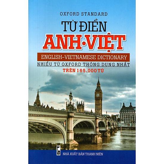 Từ Điển Anh – Việt (Trên 165.000 Từ) – Sách Bỏ Túi