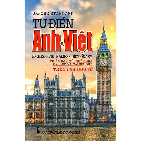 Từ Điển Anh – Việt (Trên 145.000 Từ) – Sách Bỏ Túi