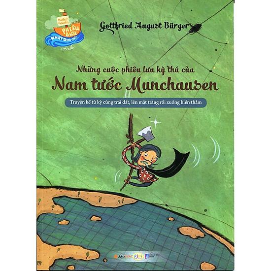 [Download Sách] Những Chuyến Phiêu Lưu Nhất Quả Đất - Những Cuộc Phiêu Lưu Kỳ Thu Của Nam Tước Munchausen