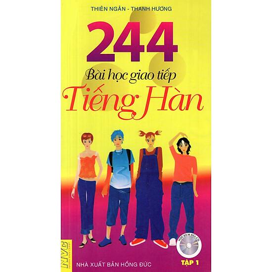 244 Bài Học Giao Tiếp Tiếng Hàn (Tập 1) (Không CD)