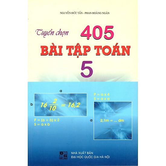 Tuyển Chọn 405 Bài Tập Toán Lớp 5