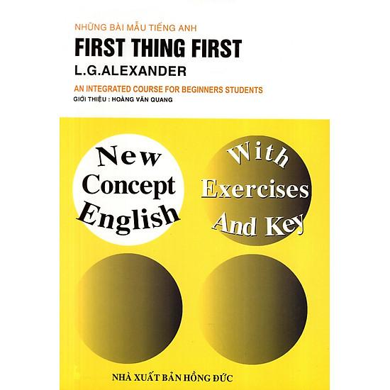Những Bài Mẫu Tiếng Anh: First Thing First