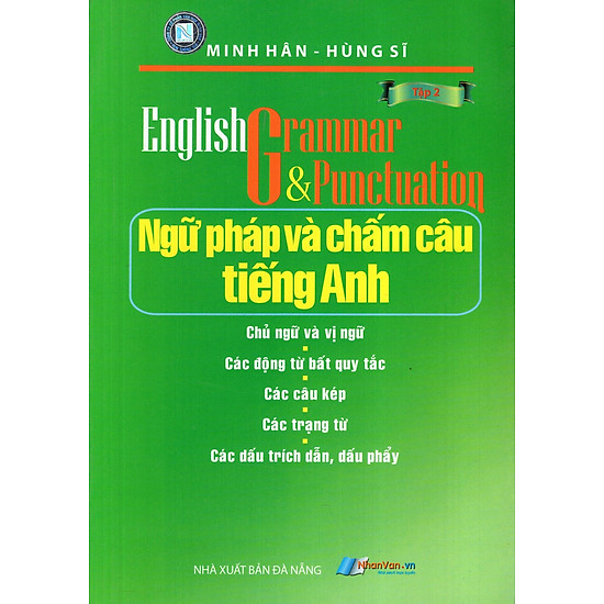[Download sách] Ngữ Pháp Và Chấm Câu Tiếng Anh (Tập 2)