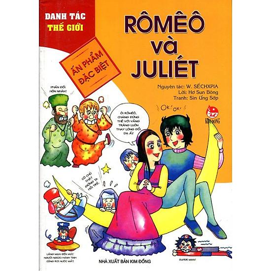 Danh Tác Thế Giới – Rômêô Và Juliét (Tái Bản 2015)