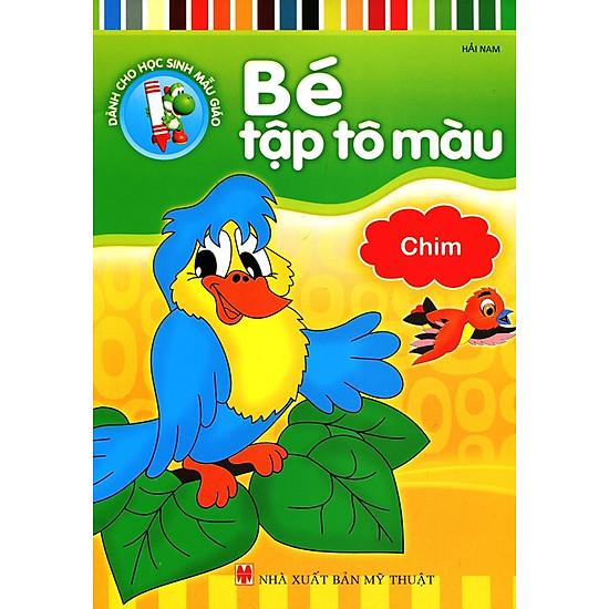 Bé Tập Tô Màu – Chim