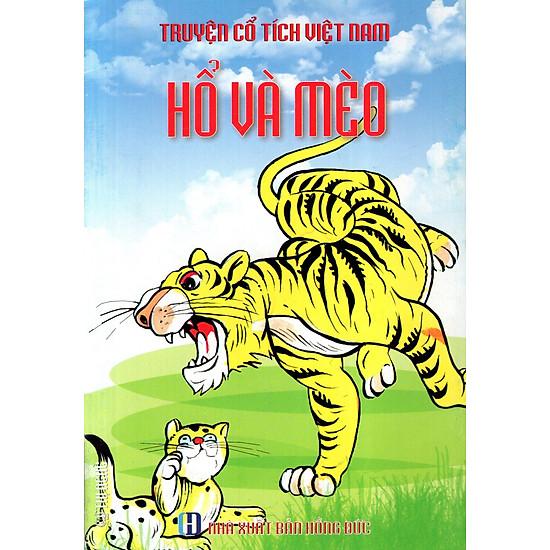 Truyện Cổ Tích Việt Nam – Hổ Và Mèo