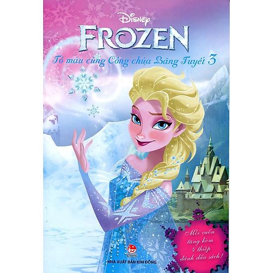 [Download sách] Frozen - Tô Màu Cùng Công Chúa Băng Tuyết (Tập 3)