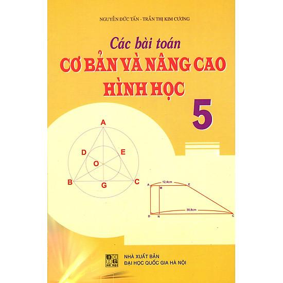 Các Bài Toán Cơ Bản Và Nâng Cao Hình Học Lớp 5