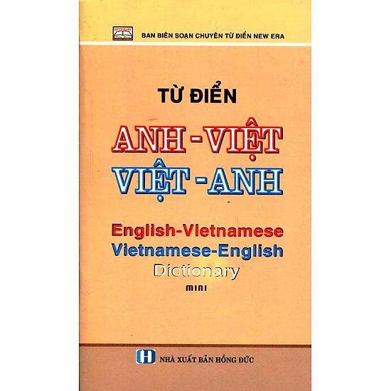 [Download sách] Từ Điển Anh - Việt, Việt - Anh (Khổ Nhỏ)