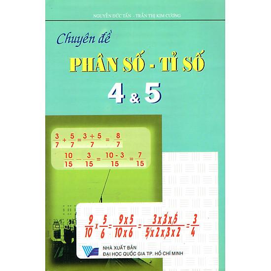 Chuyên Đề Phân Số – Tỉ Số Lớp 4 & Lớp 5