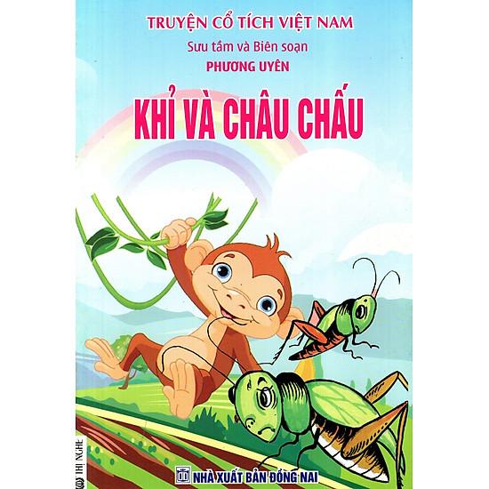 Truyện Cổ Tích Việt Nam - Khỉ Và Châu Chấu