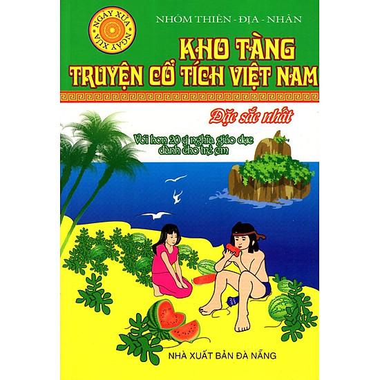 [Download Sách] Kho Tàng Truyện Cổ Tích Việt Nam Đặc Sắc Nhất