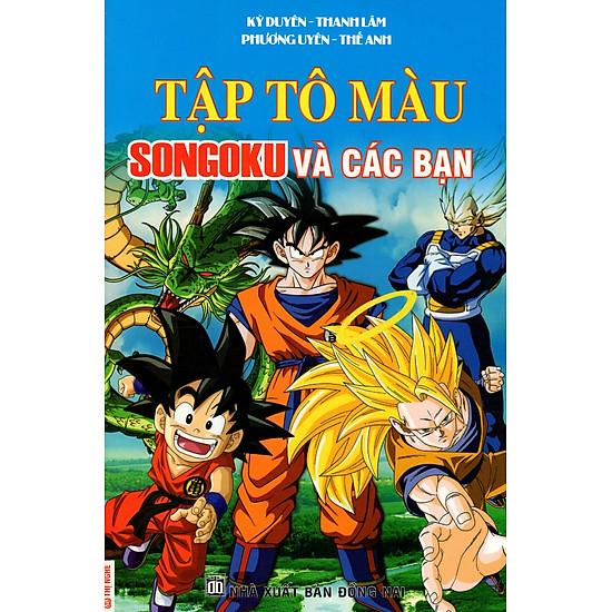 Tập Tô Màu: Songoku Và Các Bạn