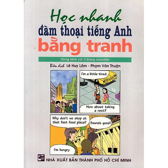 [Download Sách] Học Nhanh Đàm Thoại Tiếng Anh Bằng Tranh (Kèm 1 CD)