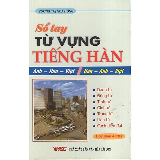 Sổ Tay Từ Vựng Tiếng Hàn (Kèm CD)