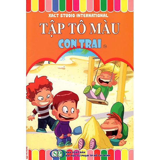 [Download Sách] Tập Tô Màu: Con Trai (74)