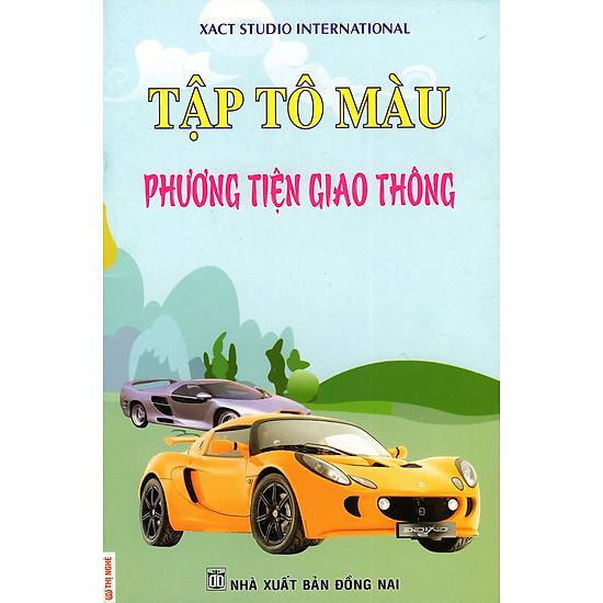 [Download Sách] Tập Tô Màu: Phương Tiện Giao Thông