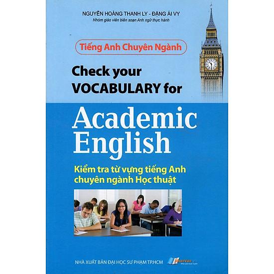 Tiếng Anh Chuyên Ngành - Kiểm Tra Từ Vựng Tiếng Anh Chuyên Ngành Học Thuật