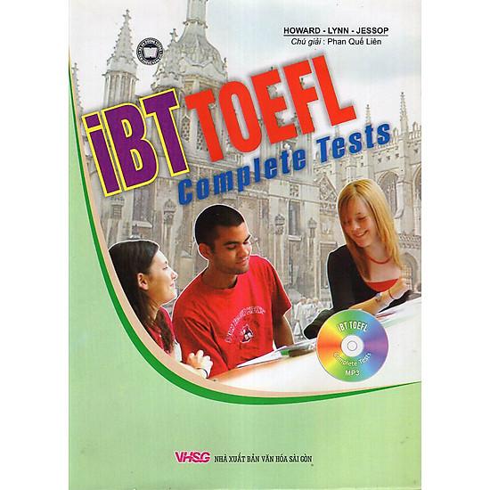 Hình ảnh download sách iBT Toefl Complete Tests (Kèm MP3)
