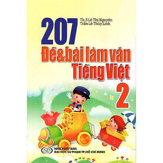 207 Đề Và Bài Làm Văn Tiếng Việt Lớp 2