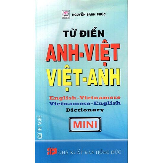 Từ Điển Anh – Việt, Việt – Anh – Sách Bỏ Túi