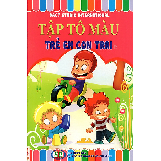 [Download Sách] Tập Tô Màu: Trẻ Em Con Trai (77)