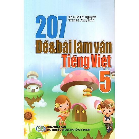 207 Đề Và Bài Làm Văn Tiếng Việt Lớp 5