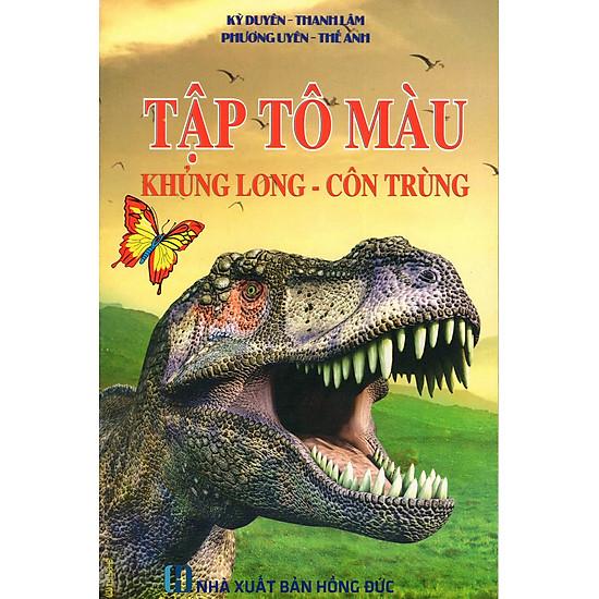 Tập Tô Màu: Khủng Long – Côn Trùng