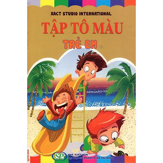 Tập Tô Màu: Trẻ Em (76)