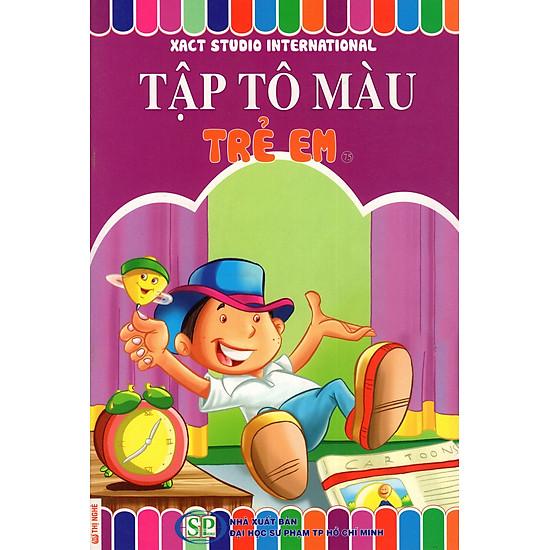 Tập Tô Màu: Trẻ Em (75)