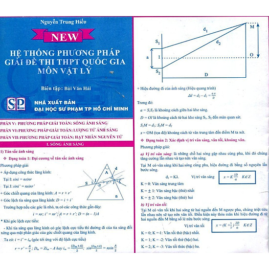 Bảng Hệ Thống Phương Pháp Giải Đề Thi THPT Quốc Gia Môn Vật Lý (1)