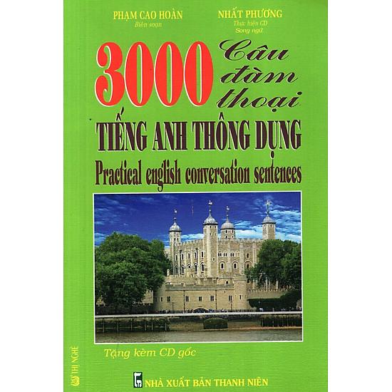 3000 Câu Đàm Thoại Tiếng Anh Thông Dụng (Kèm CD)