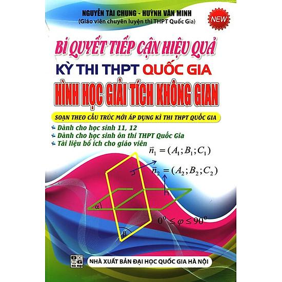 [Download Sách] Bí Quyết Tiếp Cận Hiệu Quả Kỳ Thi THPT Quốc Gia Hình Học Giải Tích Không Gian