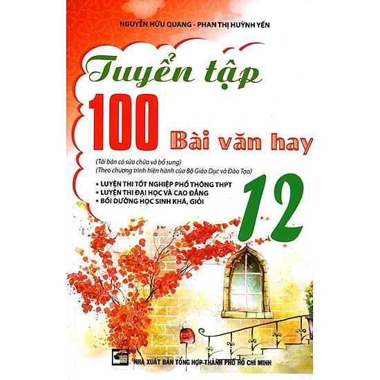 Tuyển Tập 100 Bài Văn Hay Lớp 12 - EBOOK/PDF/PRC/EPUB