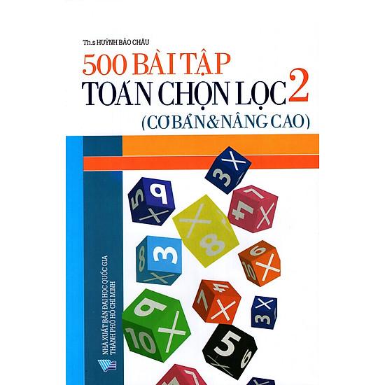 500 Bài Tập Toán Chọn Lọc Lớp 2