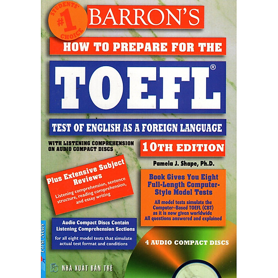 Barron′s How To Prepare For The Toefl – Test Of English As A Foreign Language (10th Edition) (No CD)