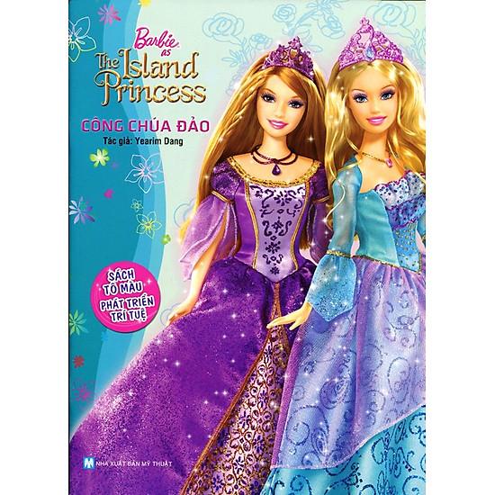 [Download Sách] Barbie - Công Chúa Đảo (Sách Tô Màu)