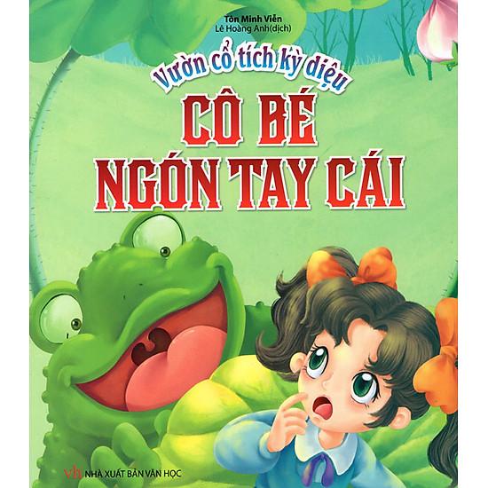 Download sách Vườn Cổ Tích Kỳ Diệu - Cô Bé Ngón Tay Cái