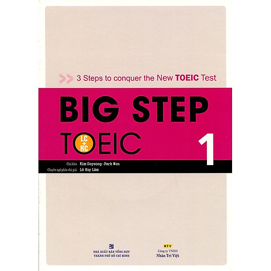 Big Step TOEIC 1 (LC + RC) - Kèm CD