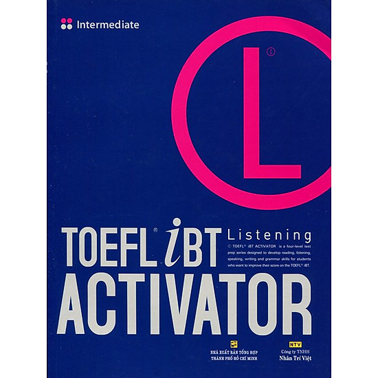 TOEFL iBT Activator Listening Intermediate (Kèm CD) - EBOOK/PDF/PRC/EPUB
