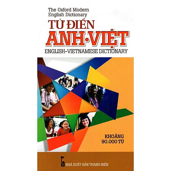 Từ Điển Anh – Việt (Khoảng 90.000 Từ – 2015) – Sách Bỏ Túi